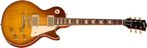 Pearly Gates Les Paul