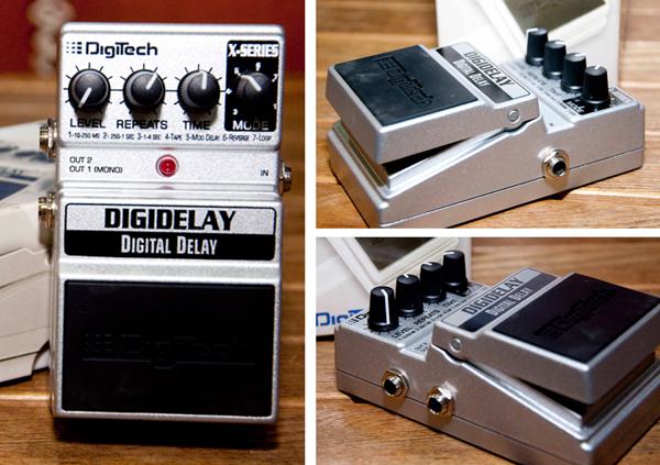 DigiTech XDD Digidelay 4-second Digital Delay