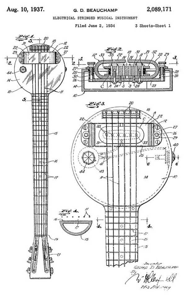 Electrical Stringed Musical Instrument