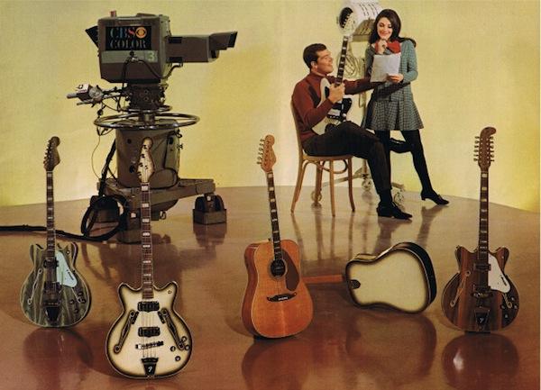 Полуакустики Fender