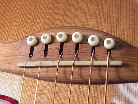 Нижний порожек для гитары своими руками